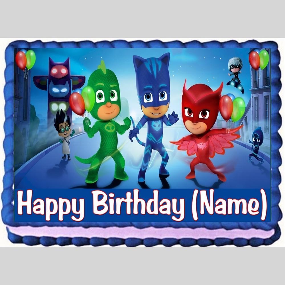 Pj Party Cakes
