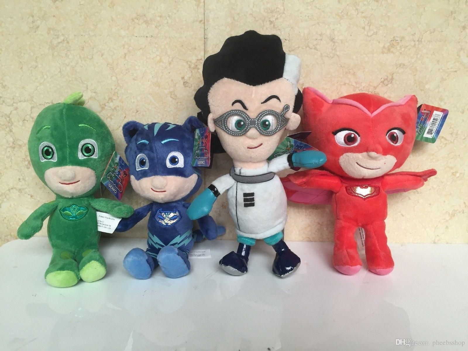 4pcs-set-8-pj-masks-mask-plush-toy-owlette