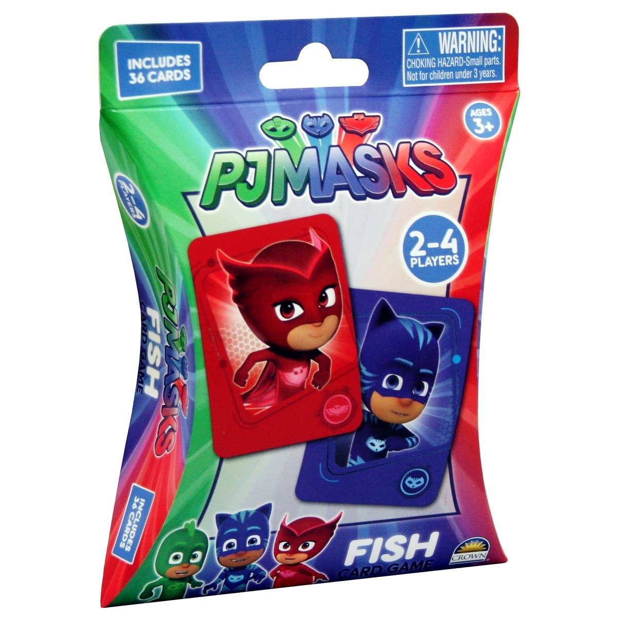 9317762177224 - PJ Masks Fish Card Game