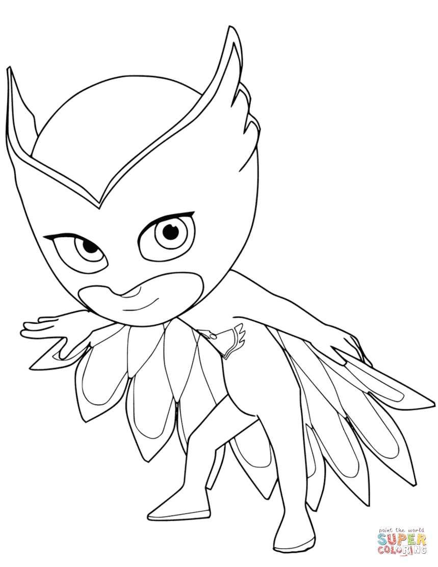 owlette-2-from-pj-masks-coloring-page