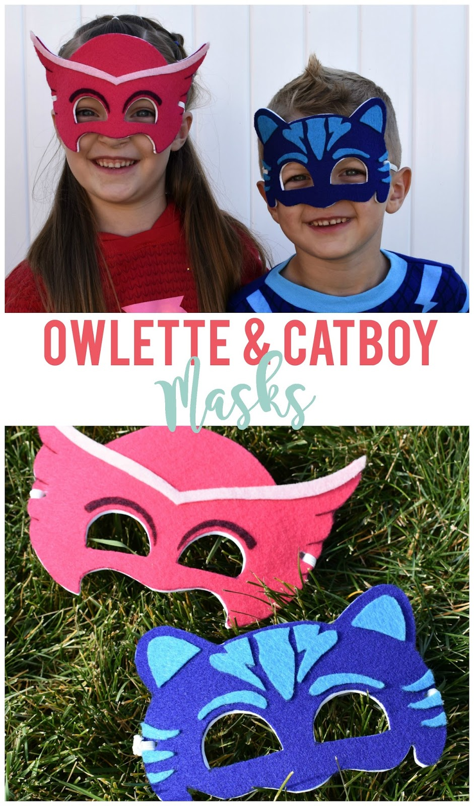 owlette and cat boy pj masks diy