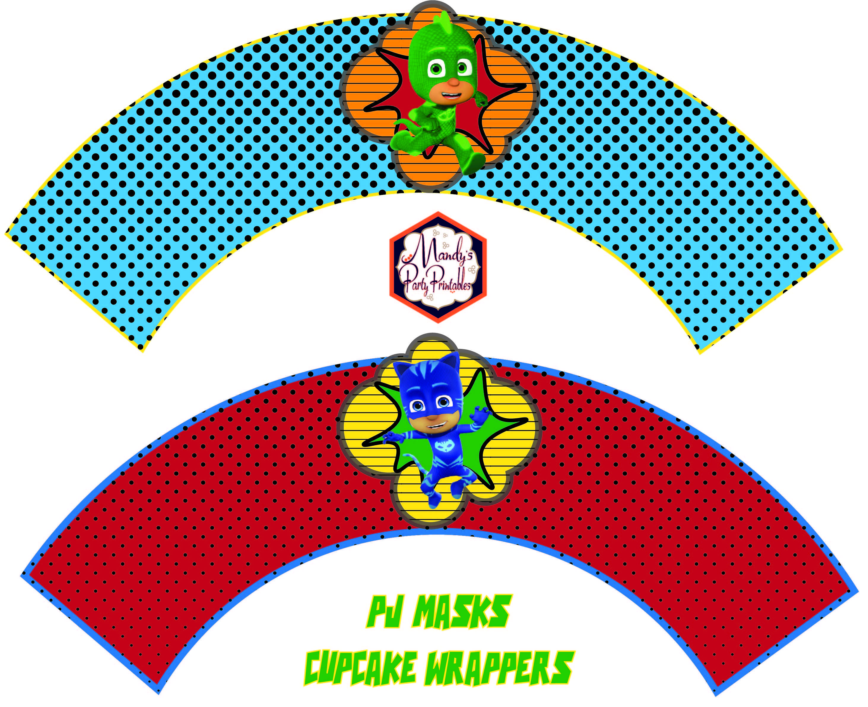 PJ-Masks-Cupcake-Wrappers
