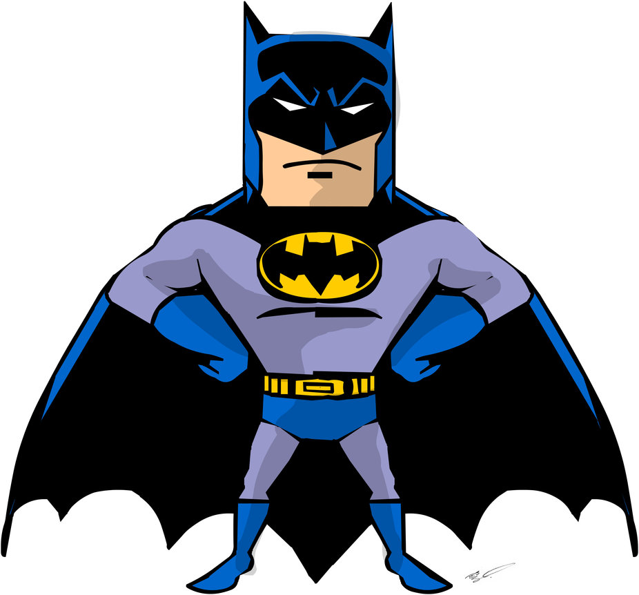 batman cartoon baby