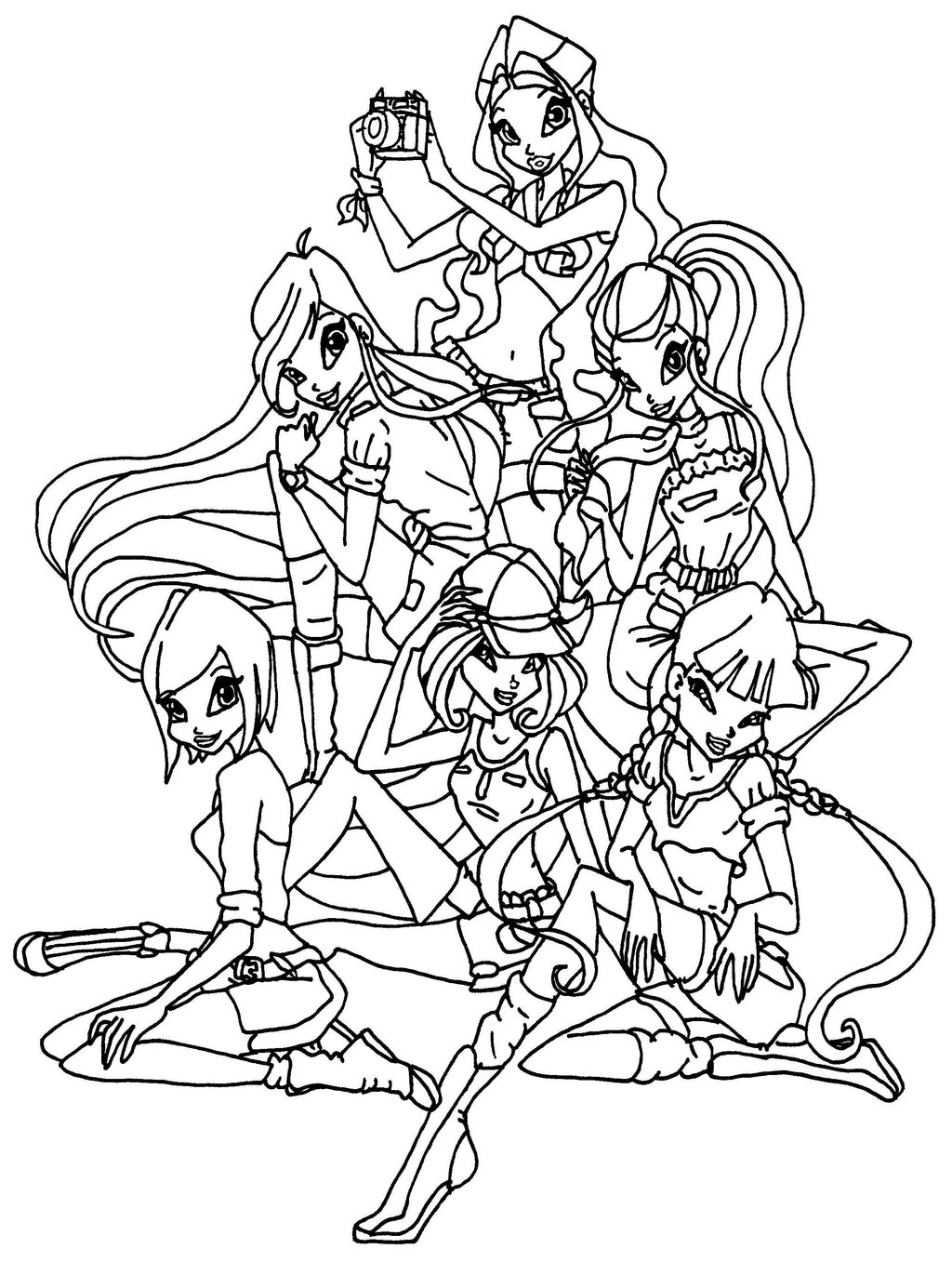 Winx Club Coloring Pages Printable picture, Winx Club Coloring Pages ...