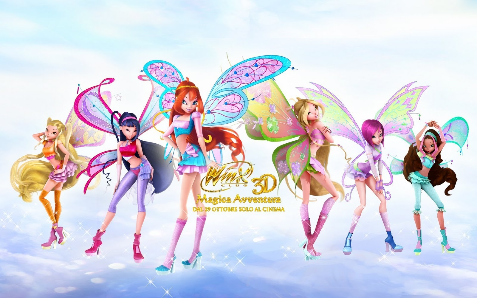 Winx Club Movie Posters
