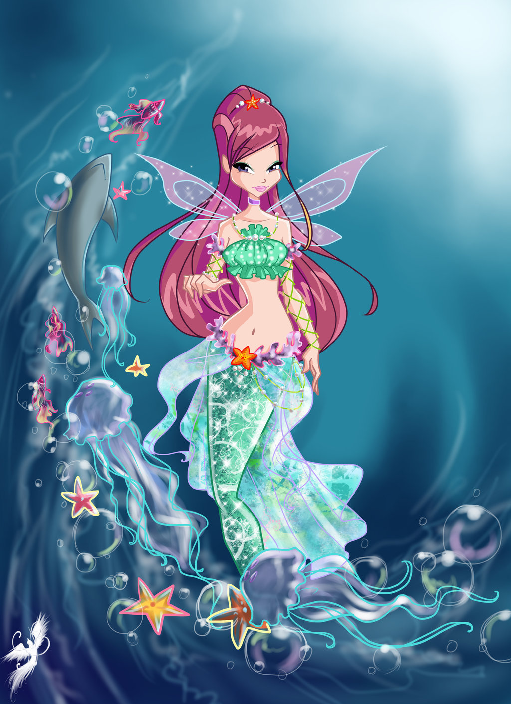 Winx Club mermaids