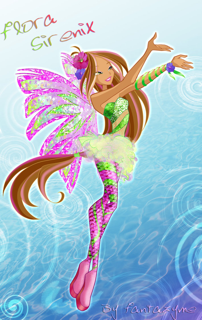 winx club flora angel