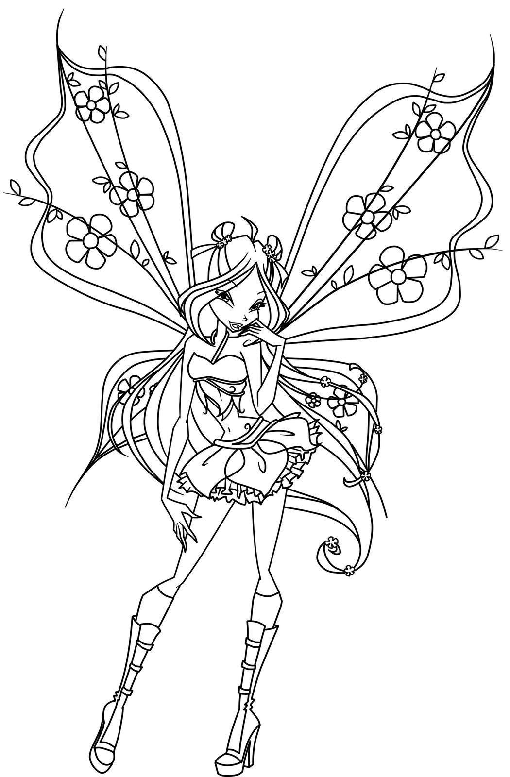 winx fairy color picture, winx fairy color wallpaper