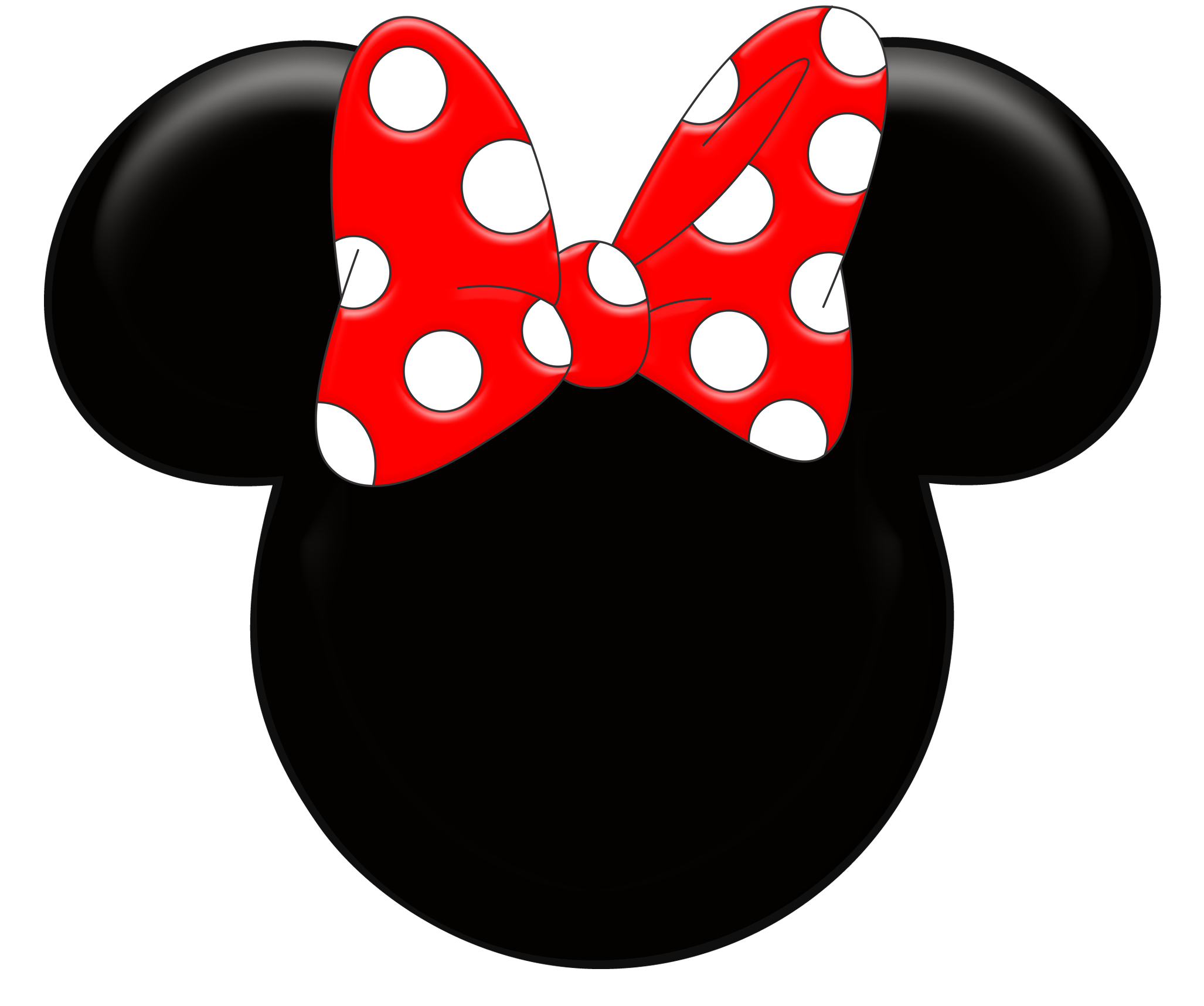 minnie mouse head template printable Car Tuning