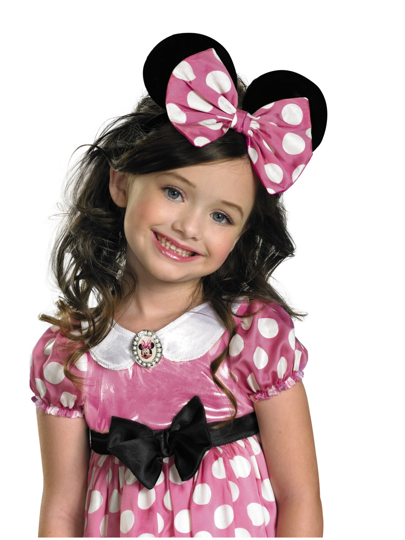 minnie Mouse Kids Glow Bow