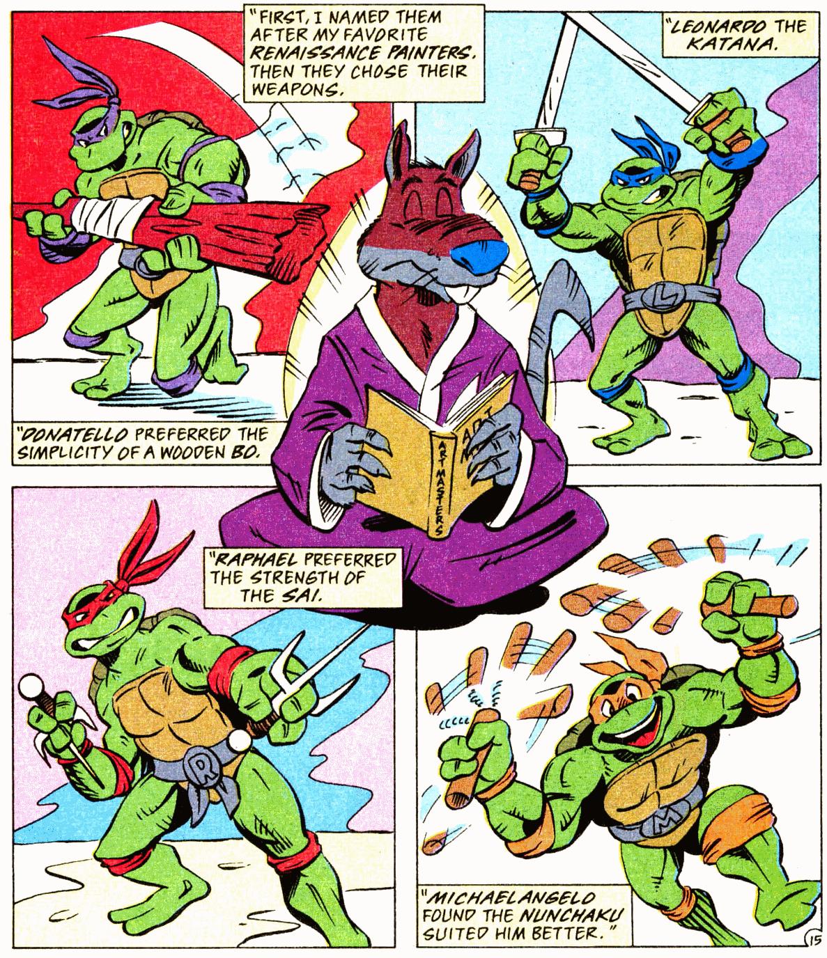 Ninja turtles fotos