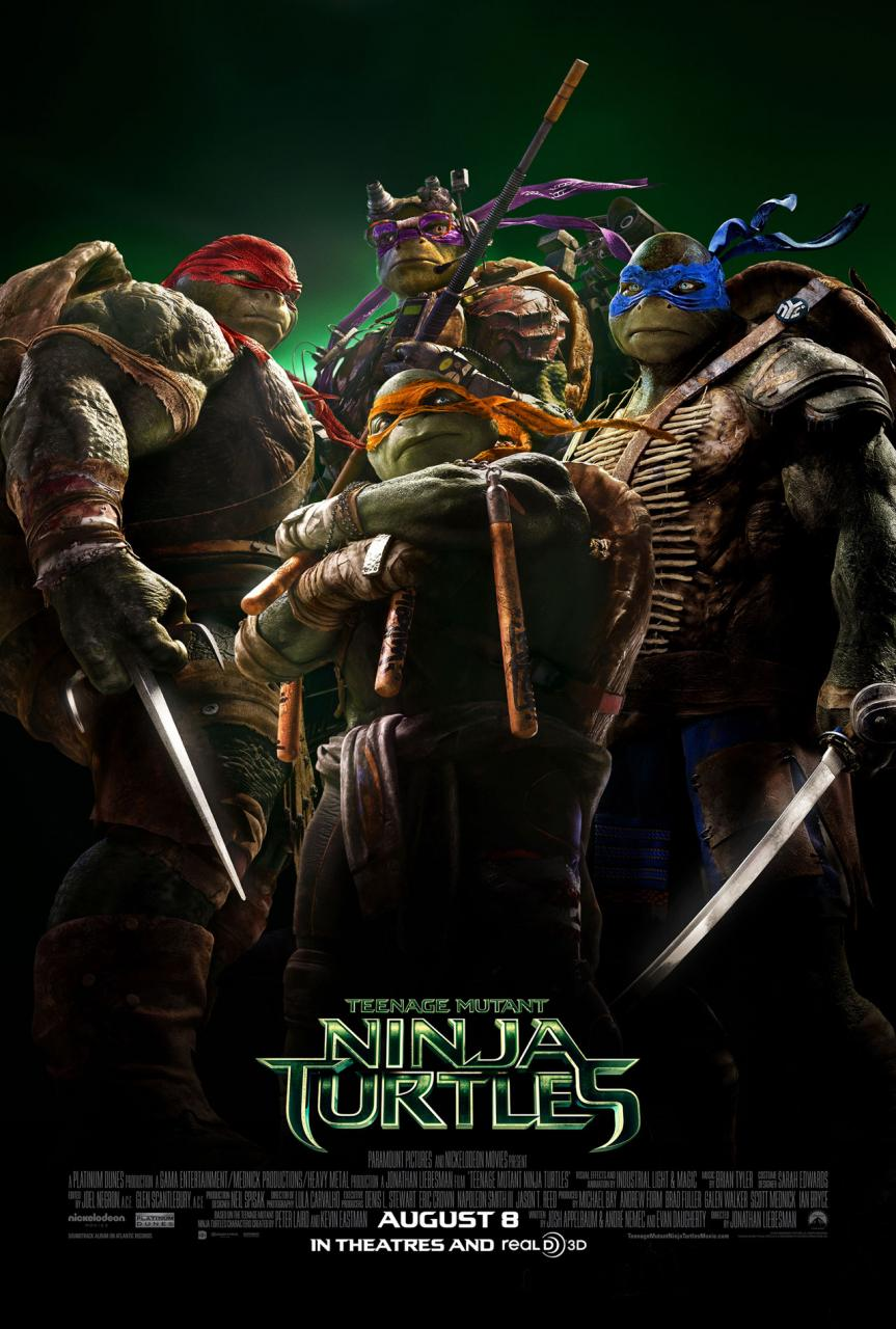 Teenage Mutant Ninja Turtles cover