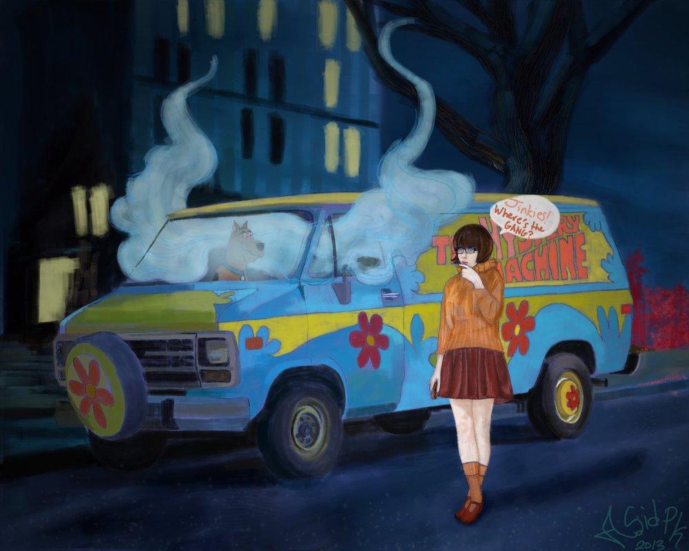 Scooby Doo Car Picture, Scooby Doo Car Wallpaper
