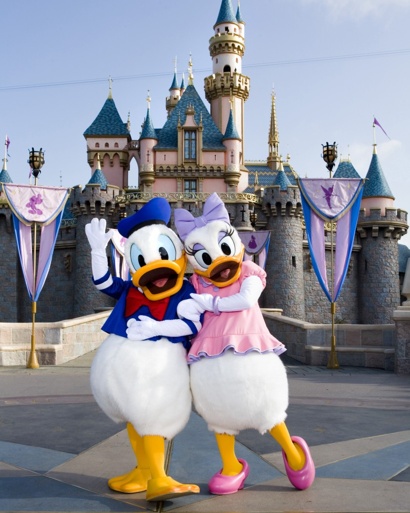 Donald and Daisy Duck cover picture Donald and Daisy Duck cover