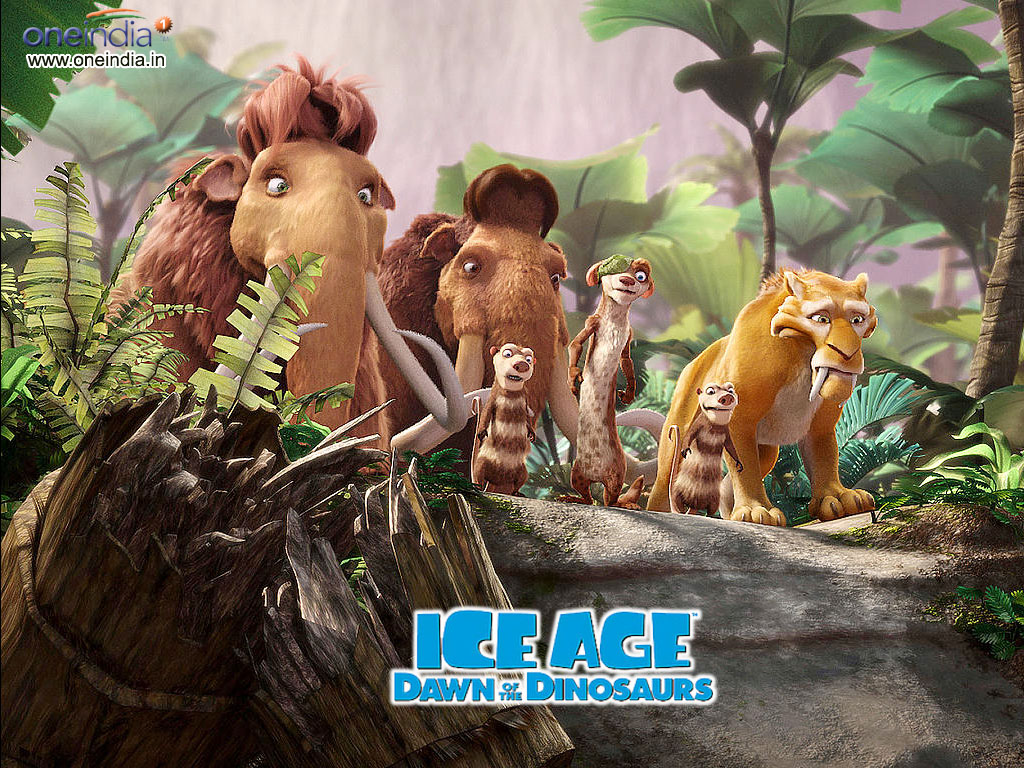 dinosaurs ice age