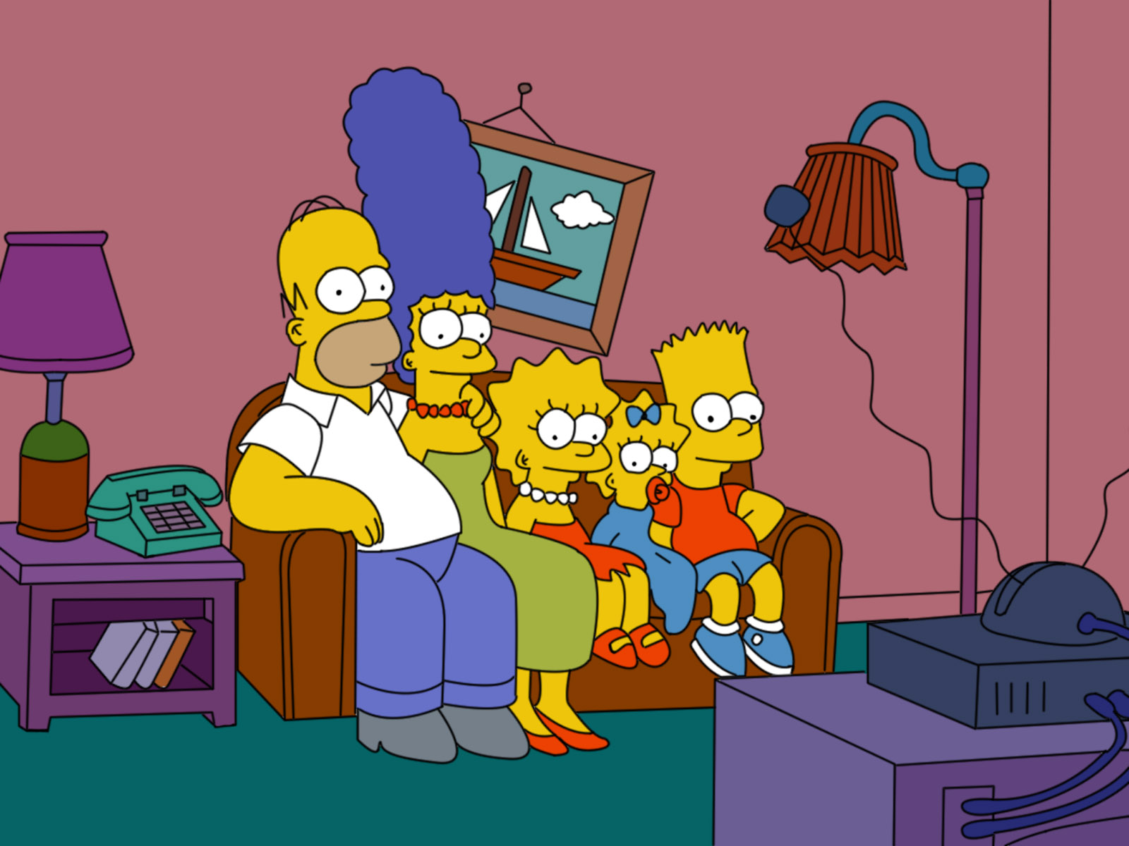 the most popular american television show the simpsons and effects on kids The impact of the television in 1950s america effect was that it made using their toilets during commercial breaks on the most popular shows.