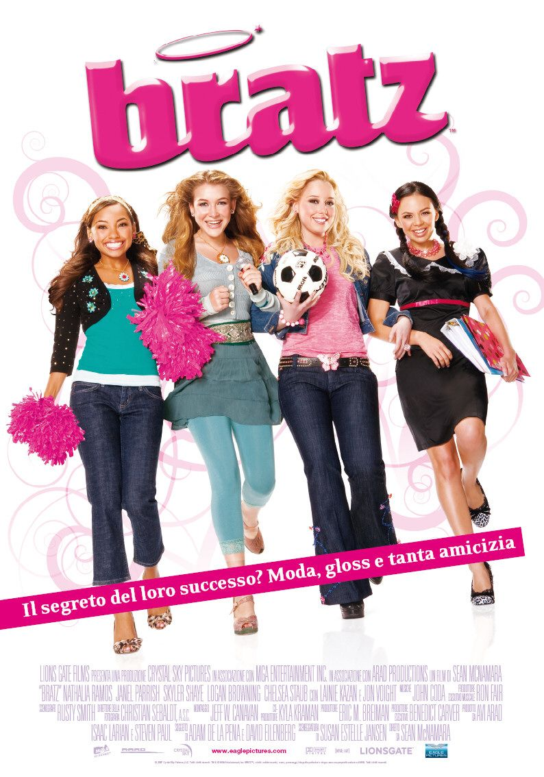 bratz  dvd cover