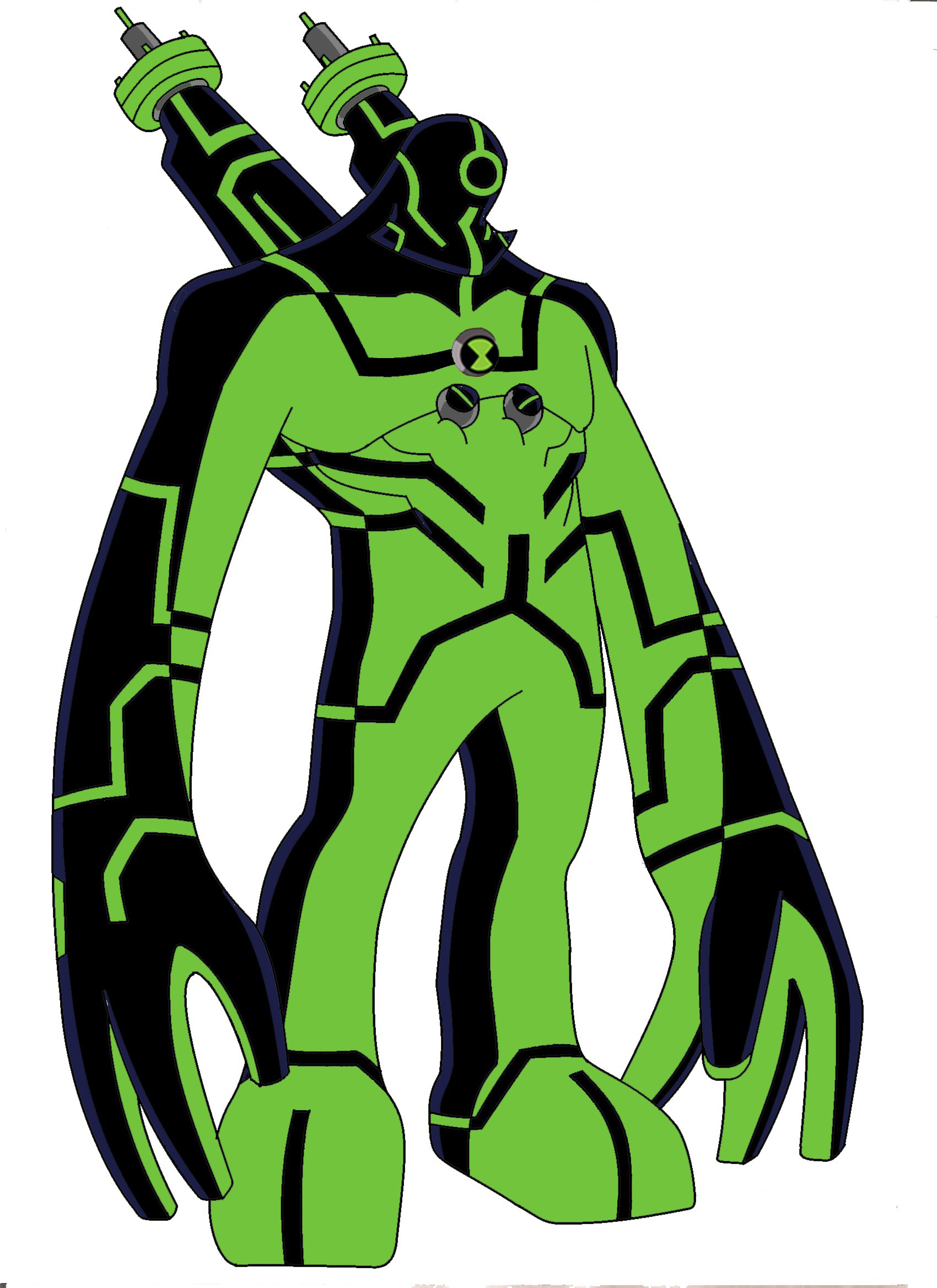 Free Coloring Pages Of Upgrade Ben 10