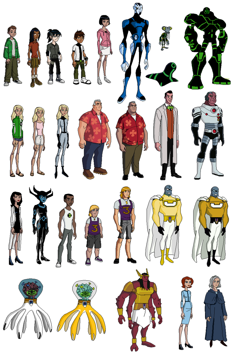 Kevin Crossley Character Design Pdf : Ben characters picture wallpaper