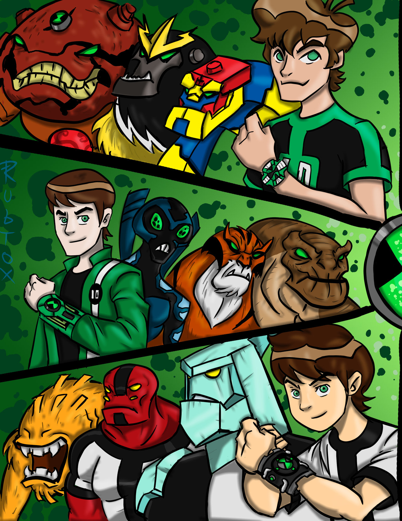 ben 10 team friend