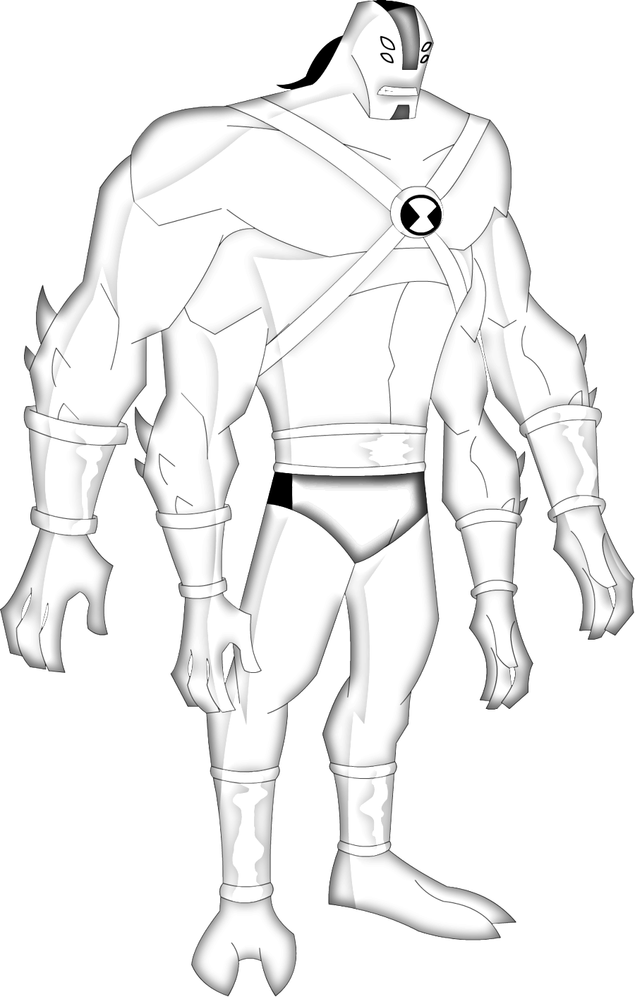 how to draw four arms ben 10. drawing ben 10 81jpg 6378. terraspin ...