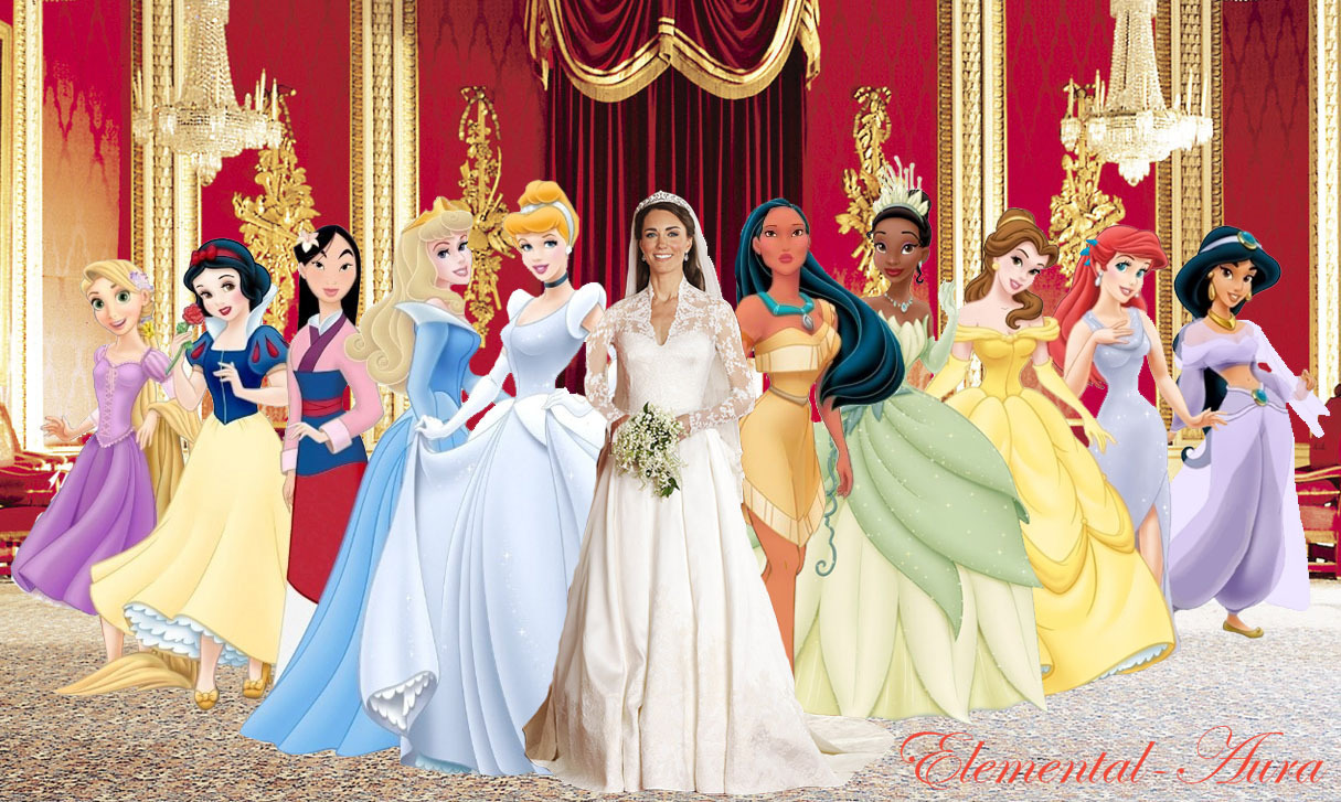 Disney Princess real