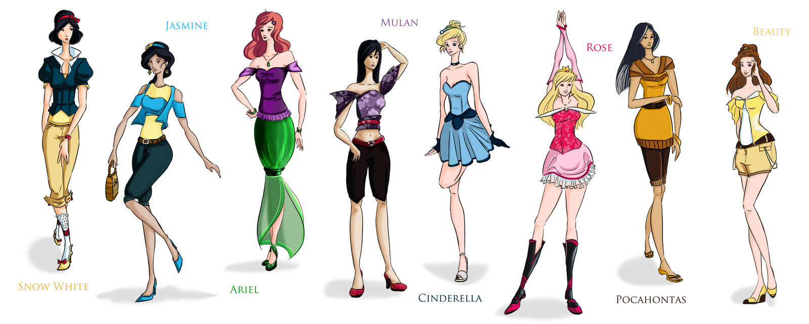 Disney Princesses full free