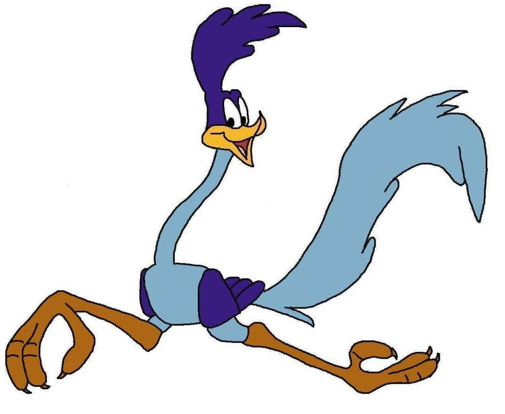Road Runner Cartoon Face