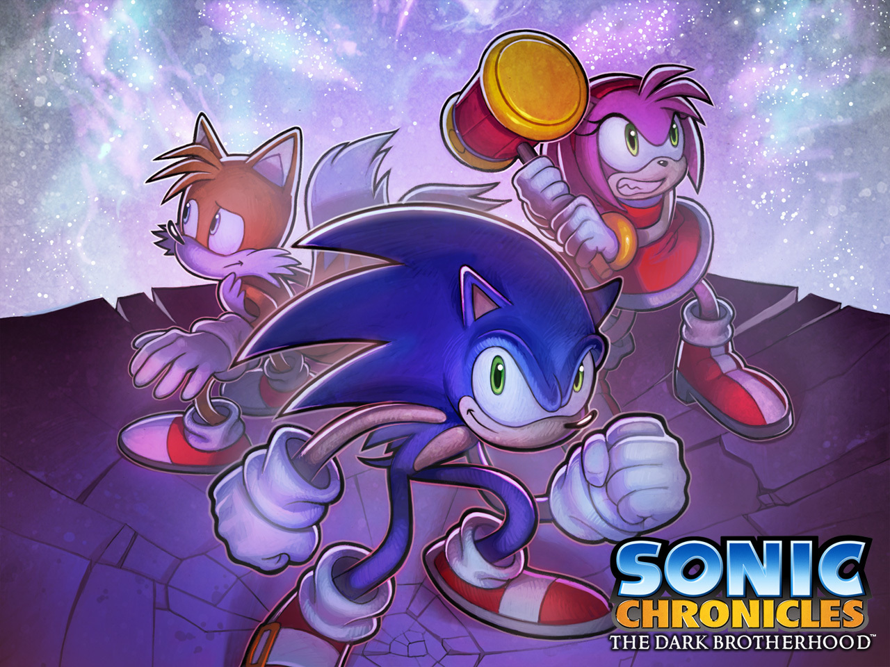Sonic chronicles wallpaper