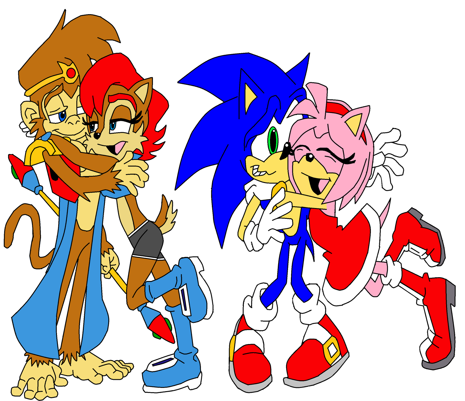 sally and sonic x amy