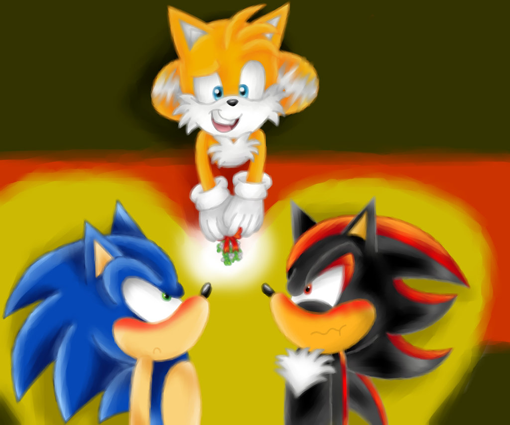 sonic x shadow tails