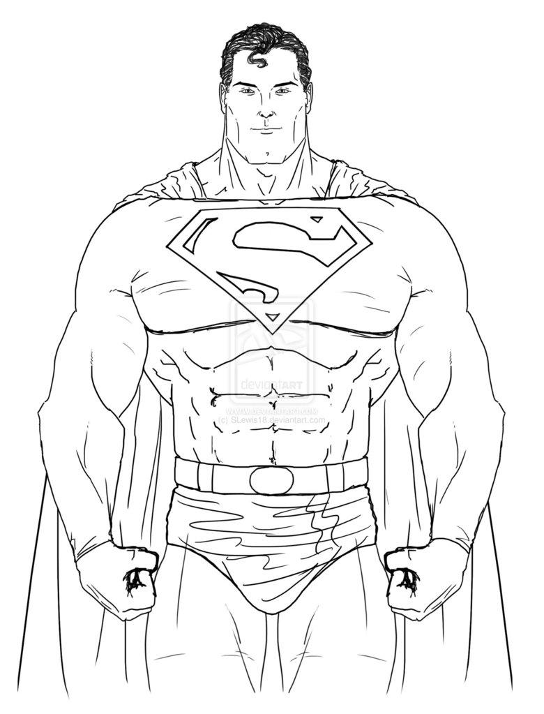 superman fotos - Superman Pictures To Colour