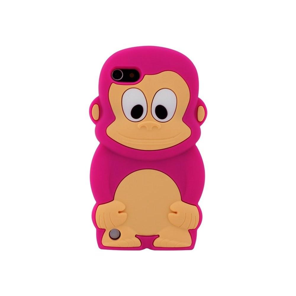 Cute Cartoon Monkey Ipod Soft Silicone Case Picture