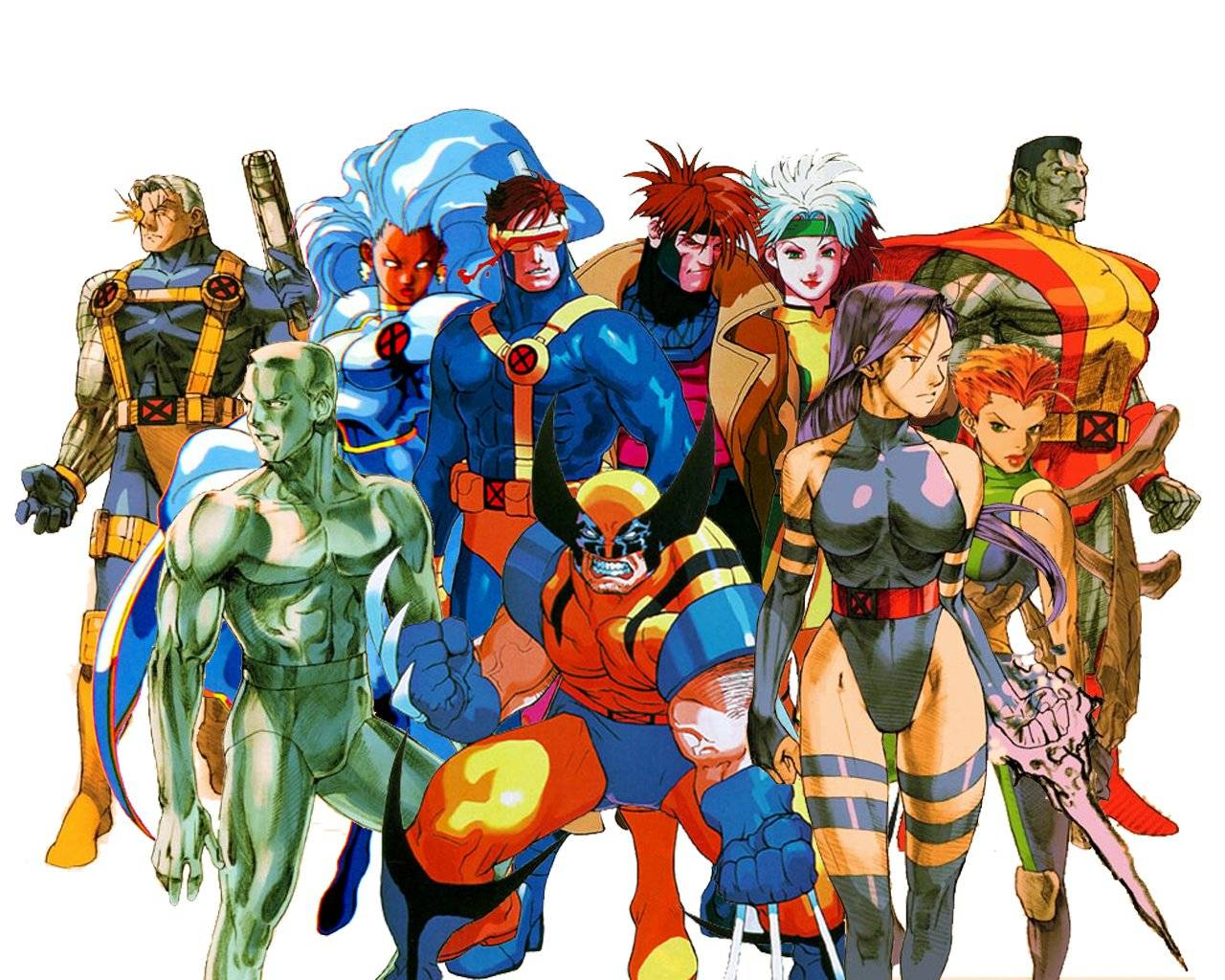 x men cartoon wonder