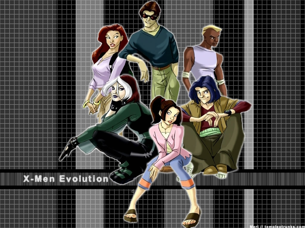 x men team evolution wallpaper
