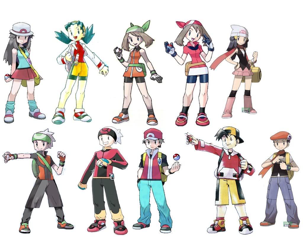 Pokemon Gen 6 Anime Characters : Pokemon trainers picture wallpaper