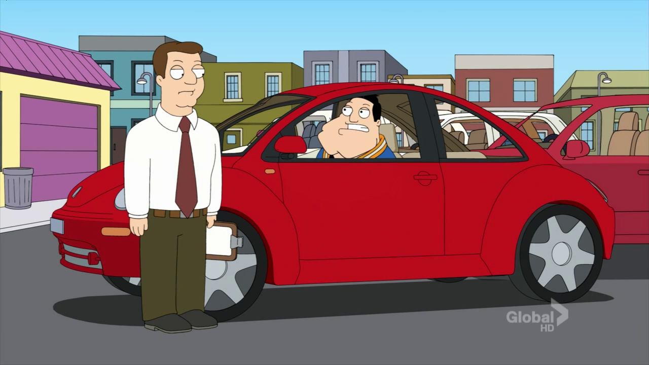 American Dad Stan Drives Auto Picture American Dad Stan
