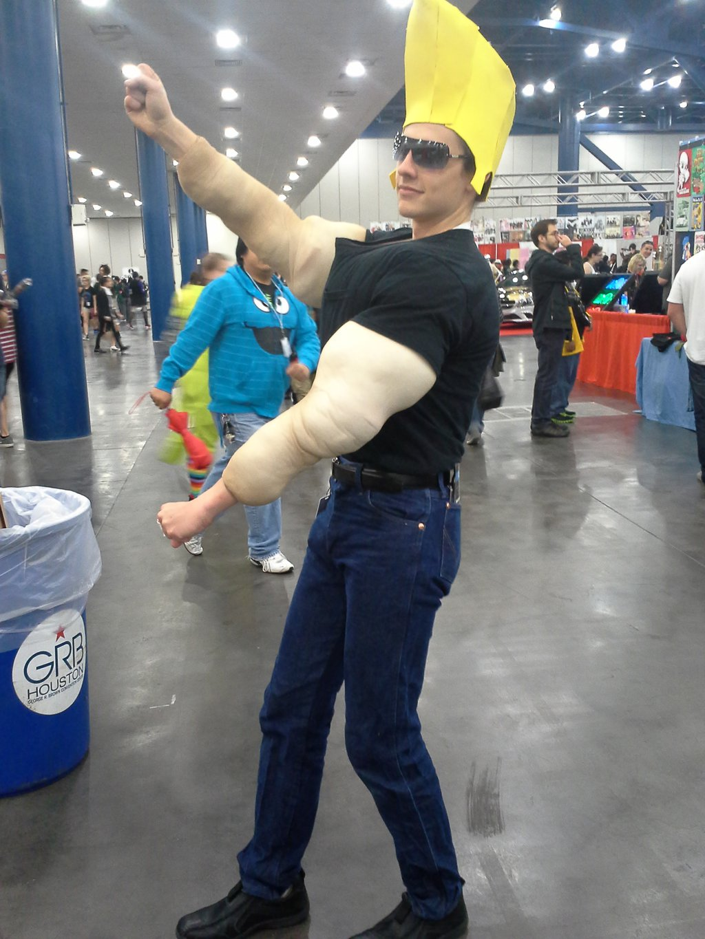 a real man johnny bravo