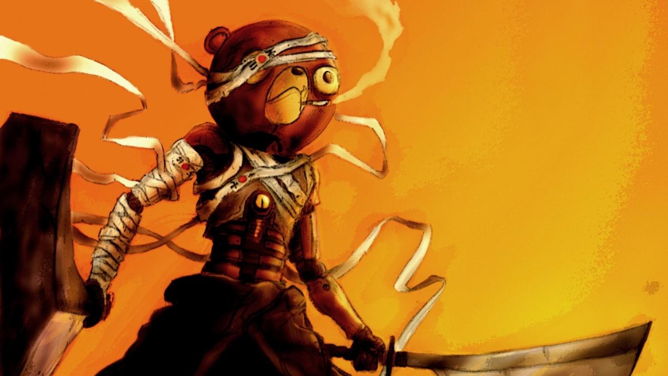 Afro Samurai Live Action Picture Wallpaper