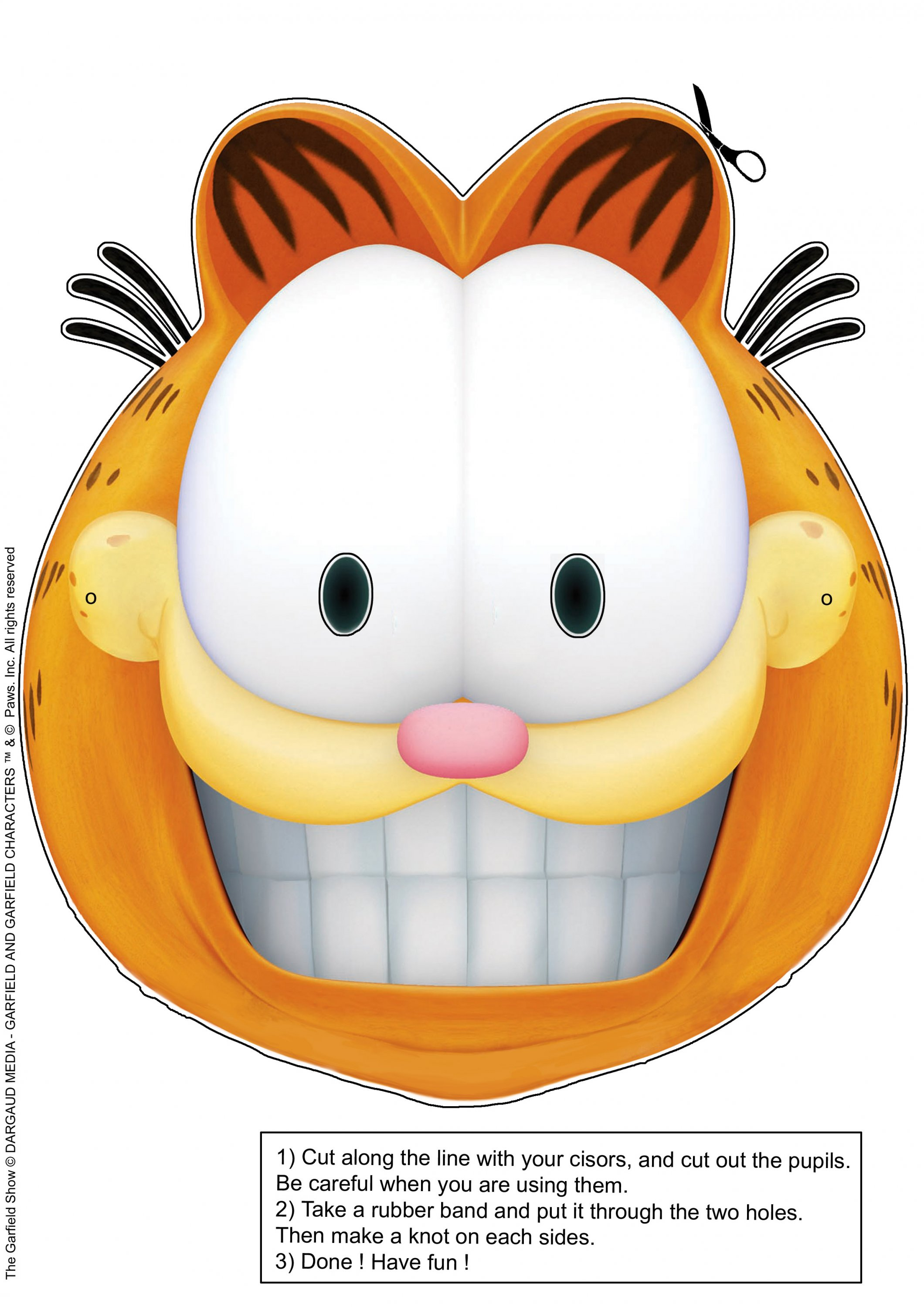 garfield smile