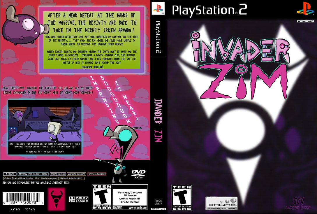 Invader ZIM The Game