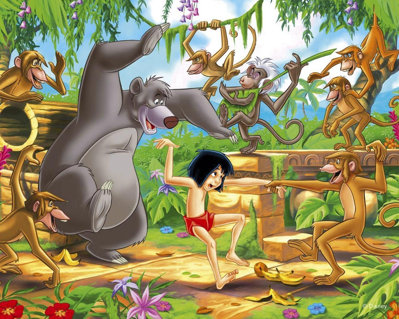 Jungle book hd disneys