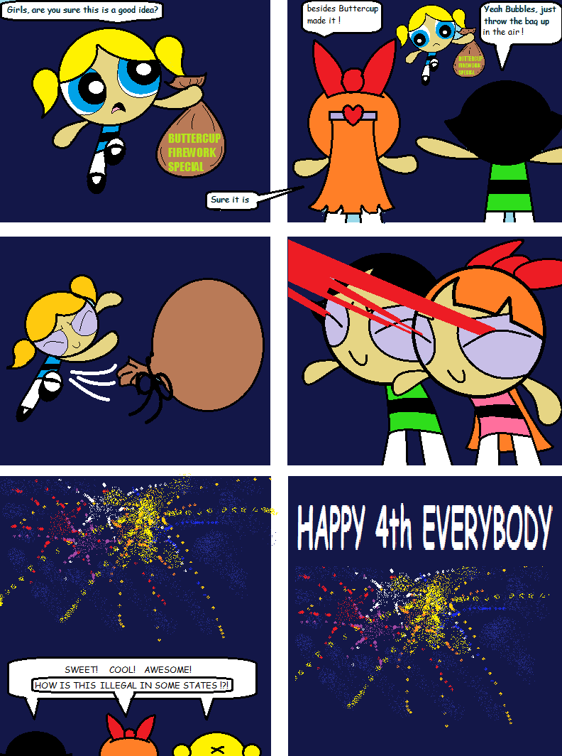 Happy Everybody powerpuff girls