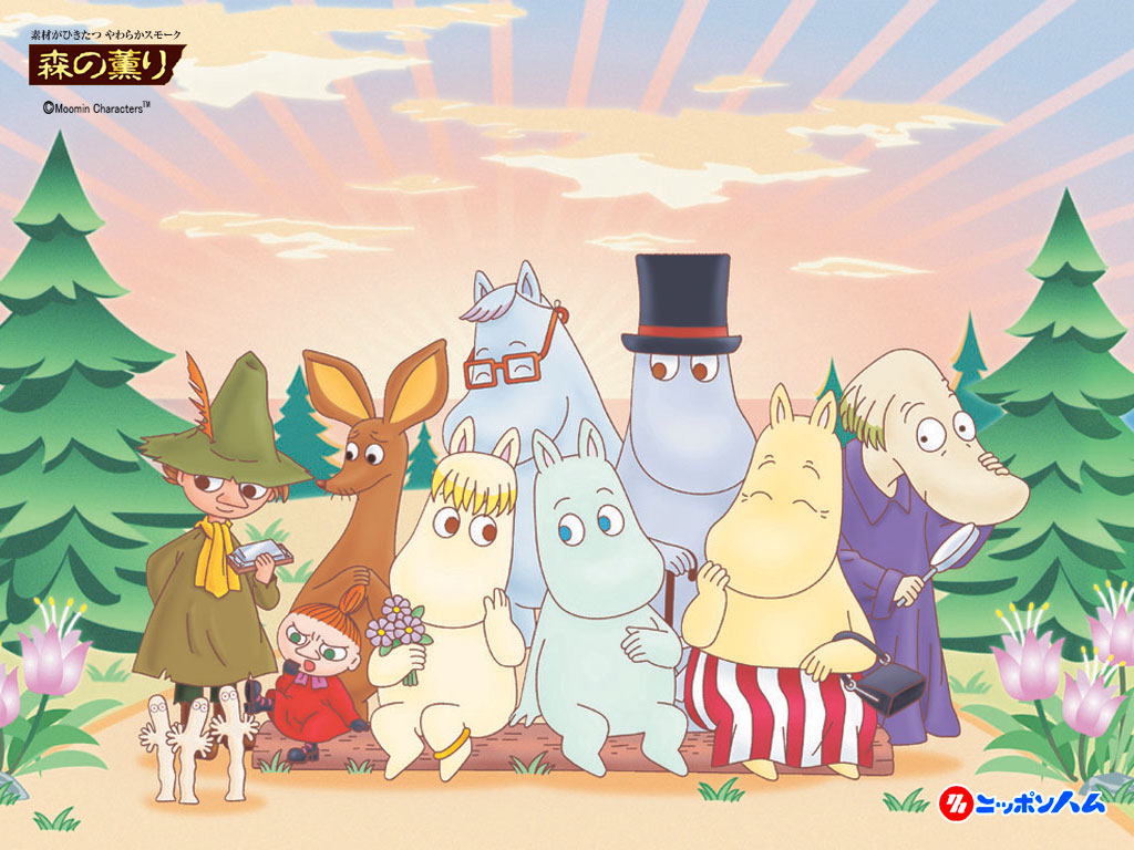 moomin family and friends the moomins