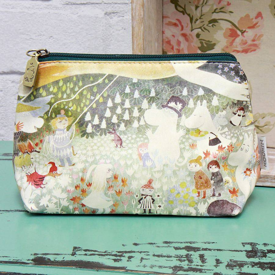 original moomin dangerous journey make up bag