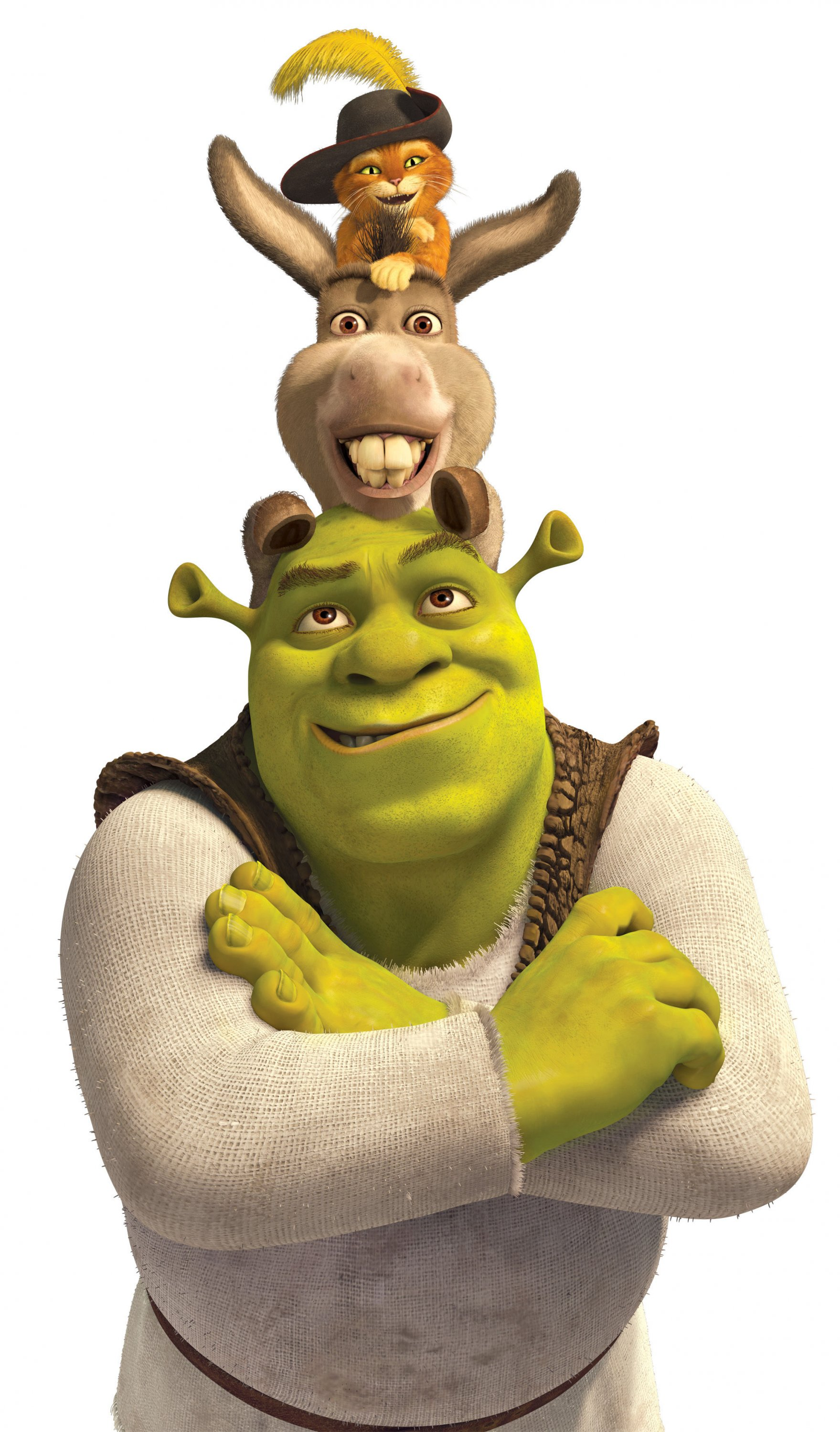 shrek forever after characters