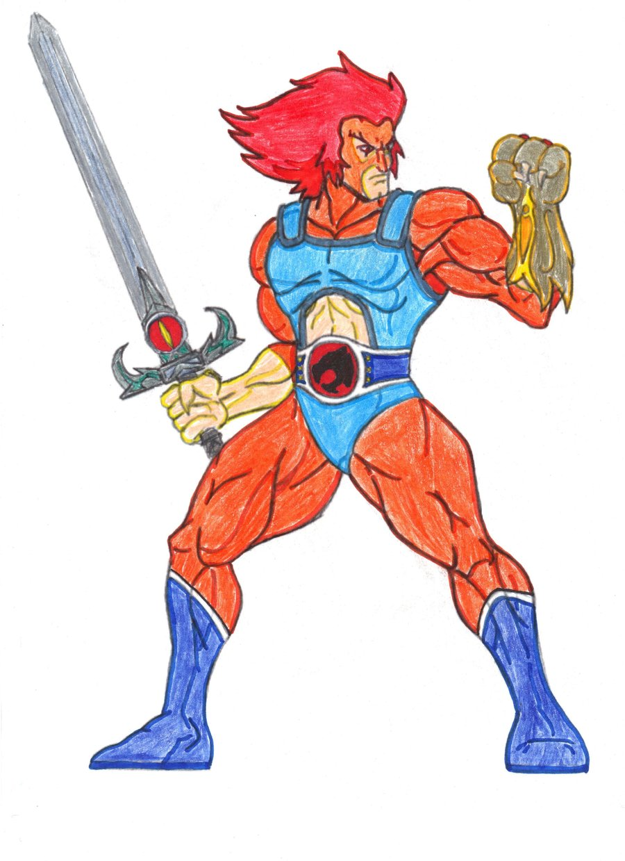 colored thundercats