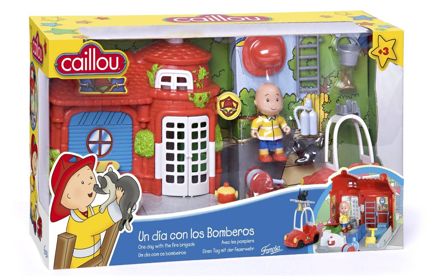 caillou clementine colour