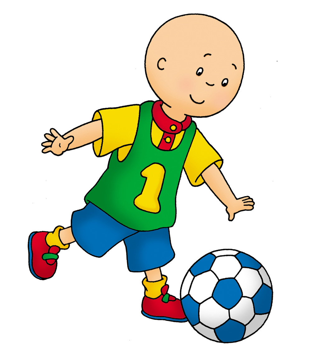 Caillou football