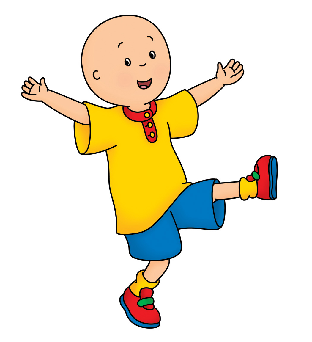 Caillou hd full cover